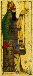 Zeul sirenă Dagon din Sumeria antică