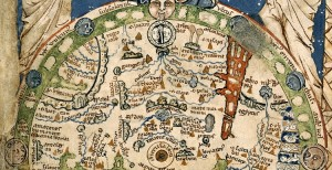 medieval map
