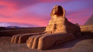 Oamenii-leu în Egipt