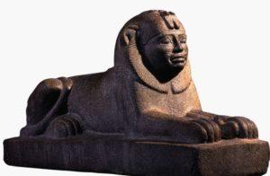 Oamenii-leu în Nubia
