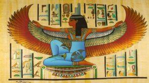 Zeița egipteană Isis