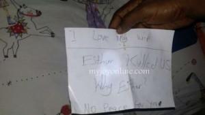 Biletul suicidar al pastorului Kwabena Bonsu