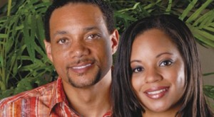Pastorul Zachery Tims cu fosta soție