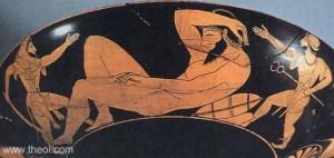 54. Uriașul Alkyoneus, cel mai în vârstă dintre giganți