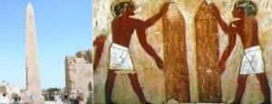 65. Existența uriașilor în mormântul nobilului egiptean Rekhmire