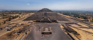 72. Citadela Teotihuacan, civilizația precolumbiană, Mexic