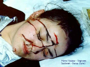 Myrna Nazzour, Siria